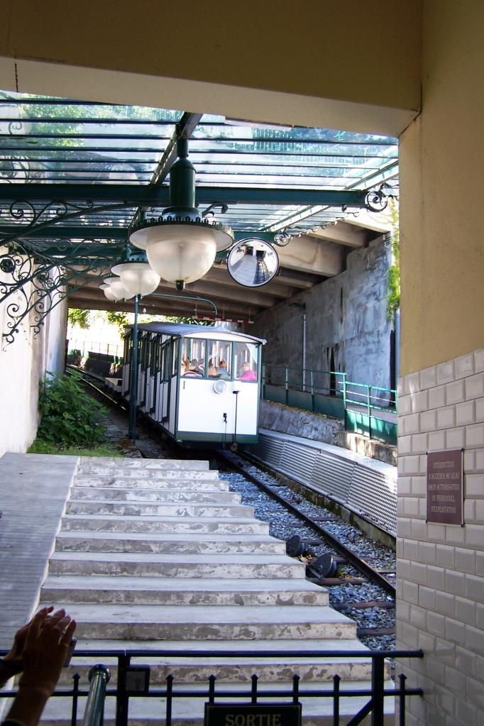 Evian, le funiculaire