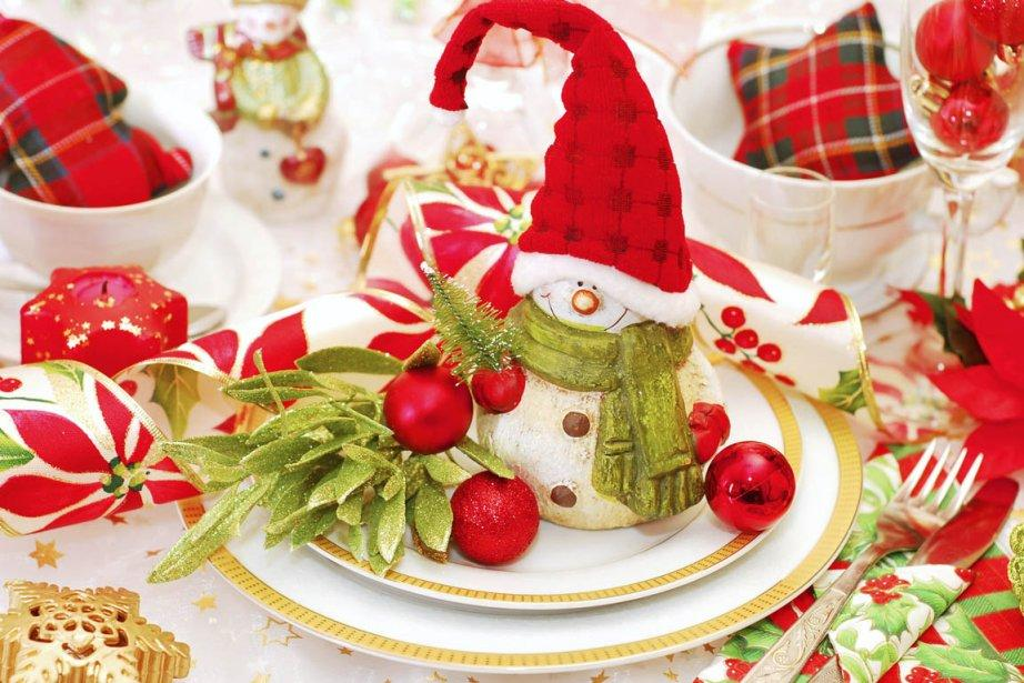 620914 oubliez traditionnel repas noel table